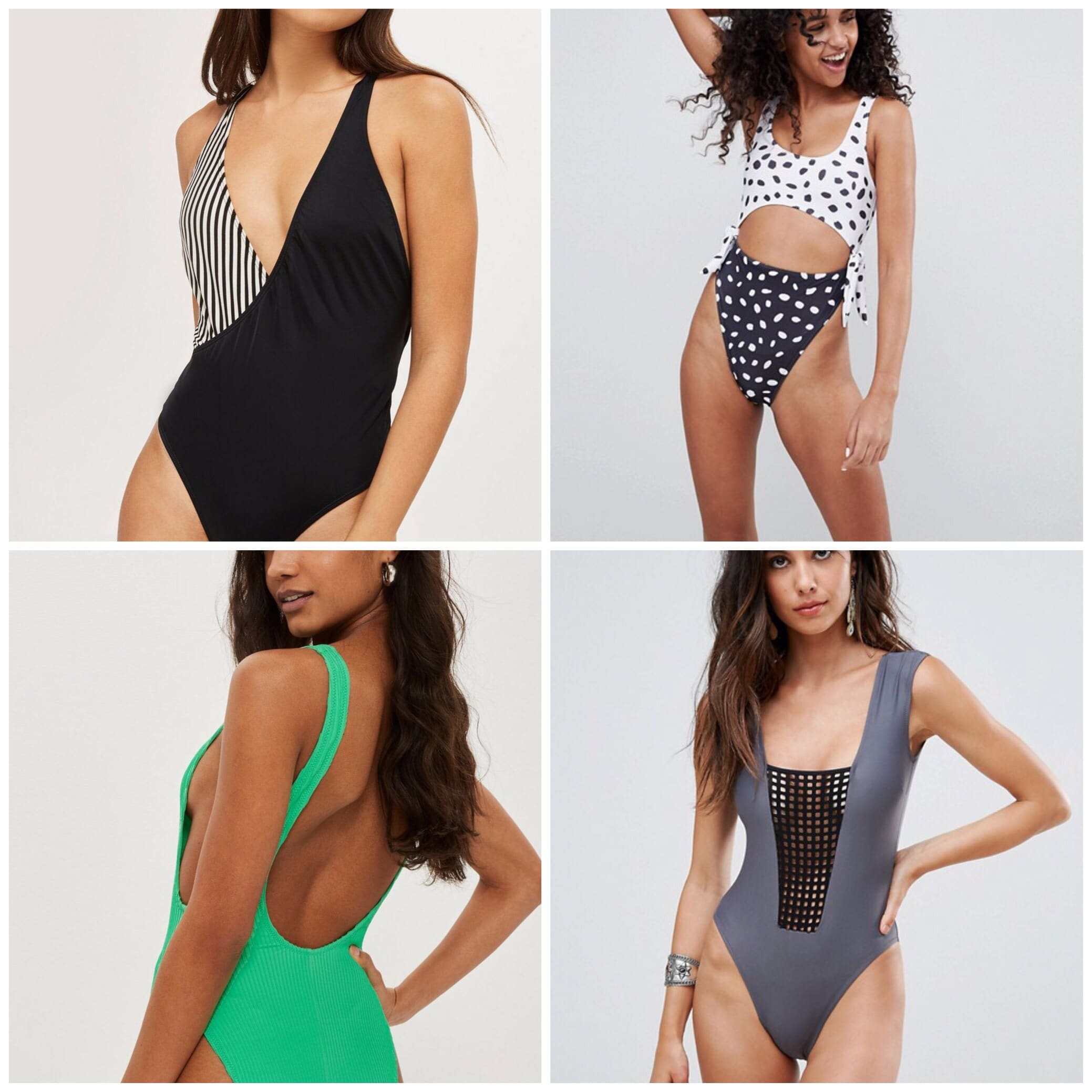 Sexy one piece swimsuits Color Pattern