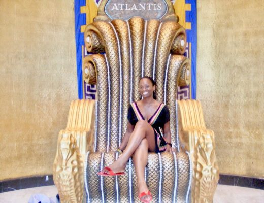 Nassau Bahamas Atlantis Chair Style by Belle Solo Travel