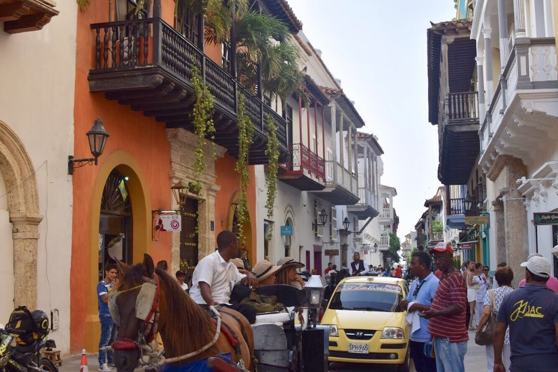 Travel to Cartagena Colombia Walled City Hustle