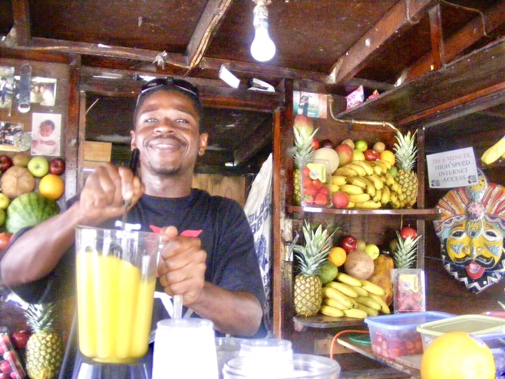 Nassau Bahamas Smoothie Style by Belle