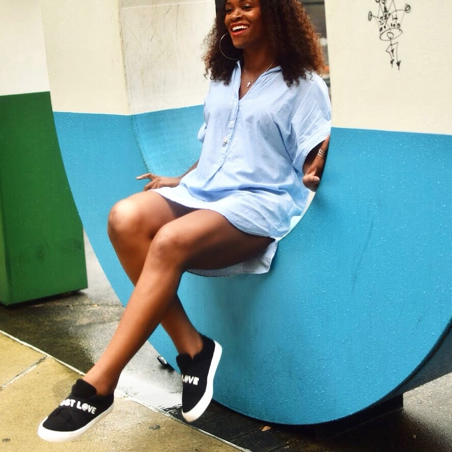 Being a lifestyle blogger love sneakers