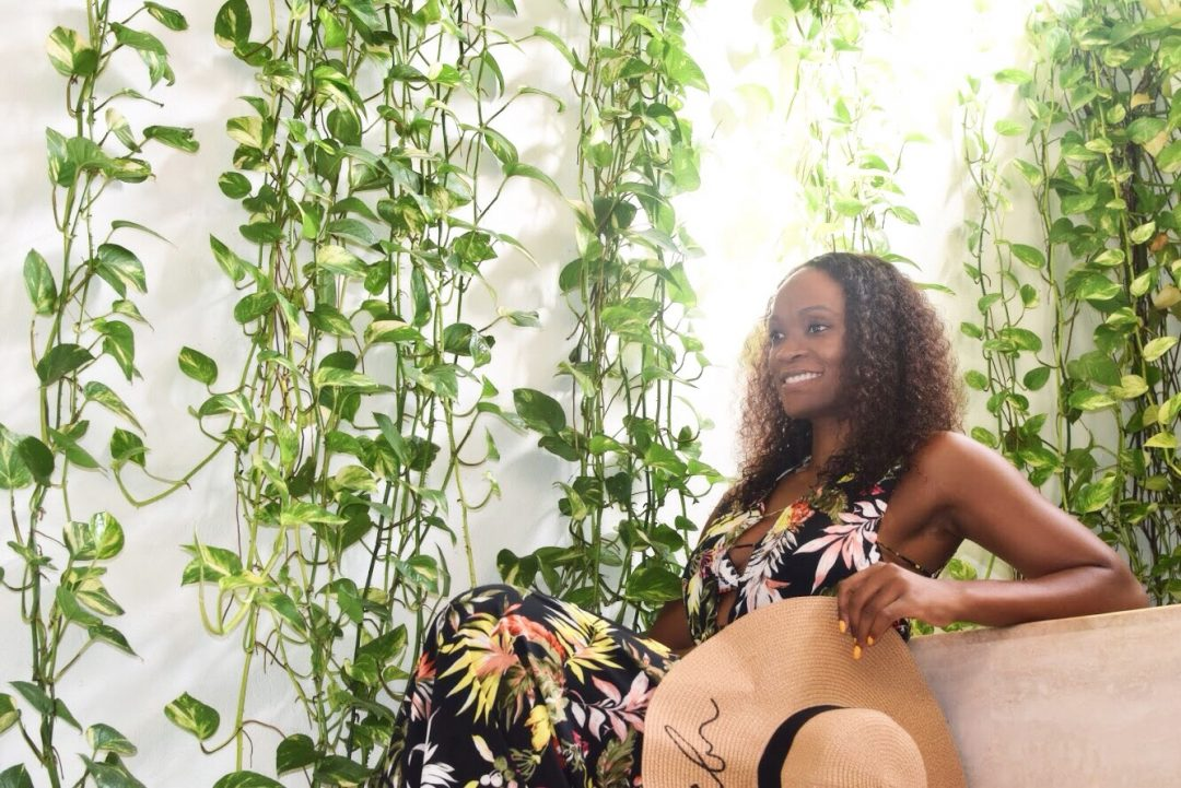 Being a lifestyle blogger tropical cover up
