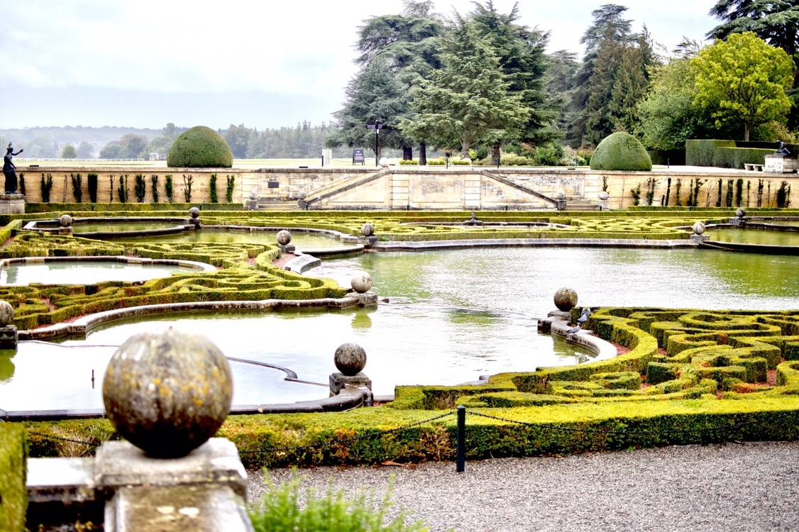 Blenheim Palace Gardens Belle in Transit