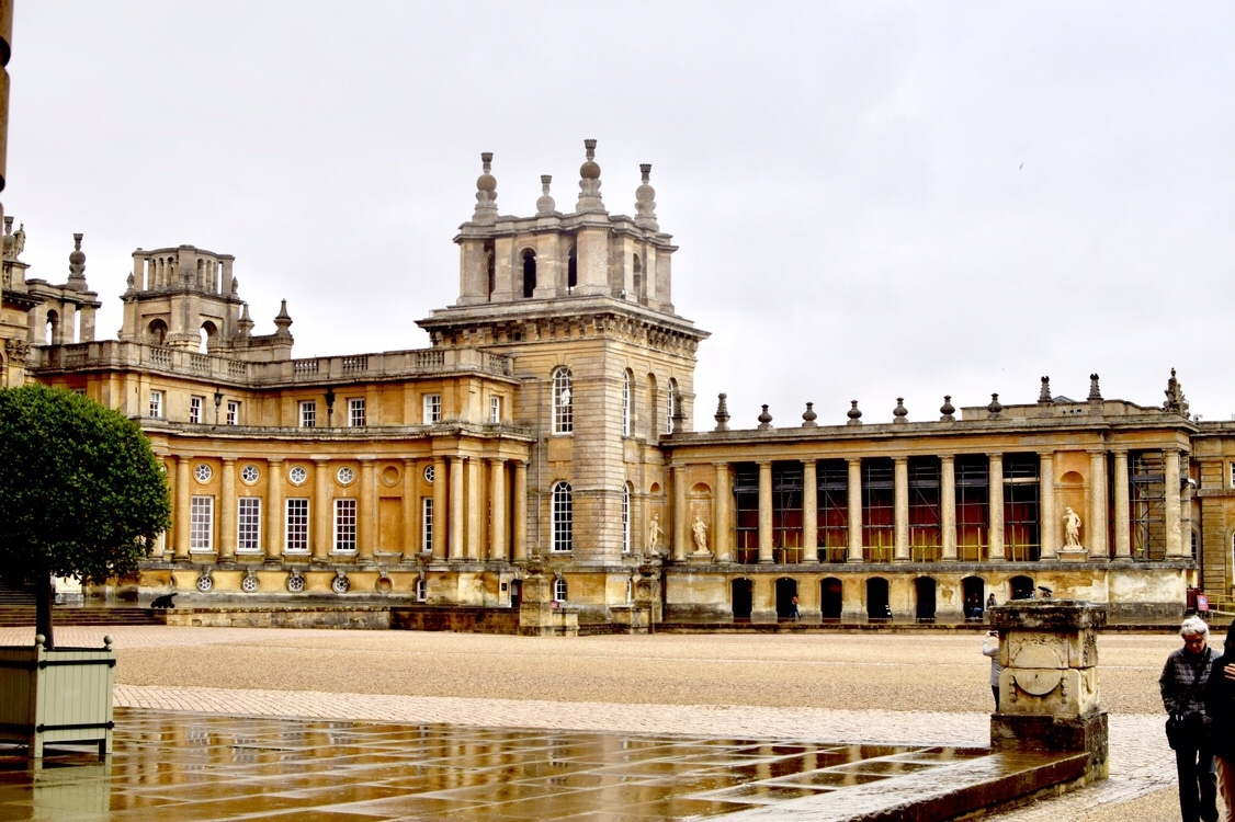 Blenheim Palace Grounds Belle in Transit