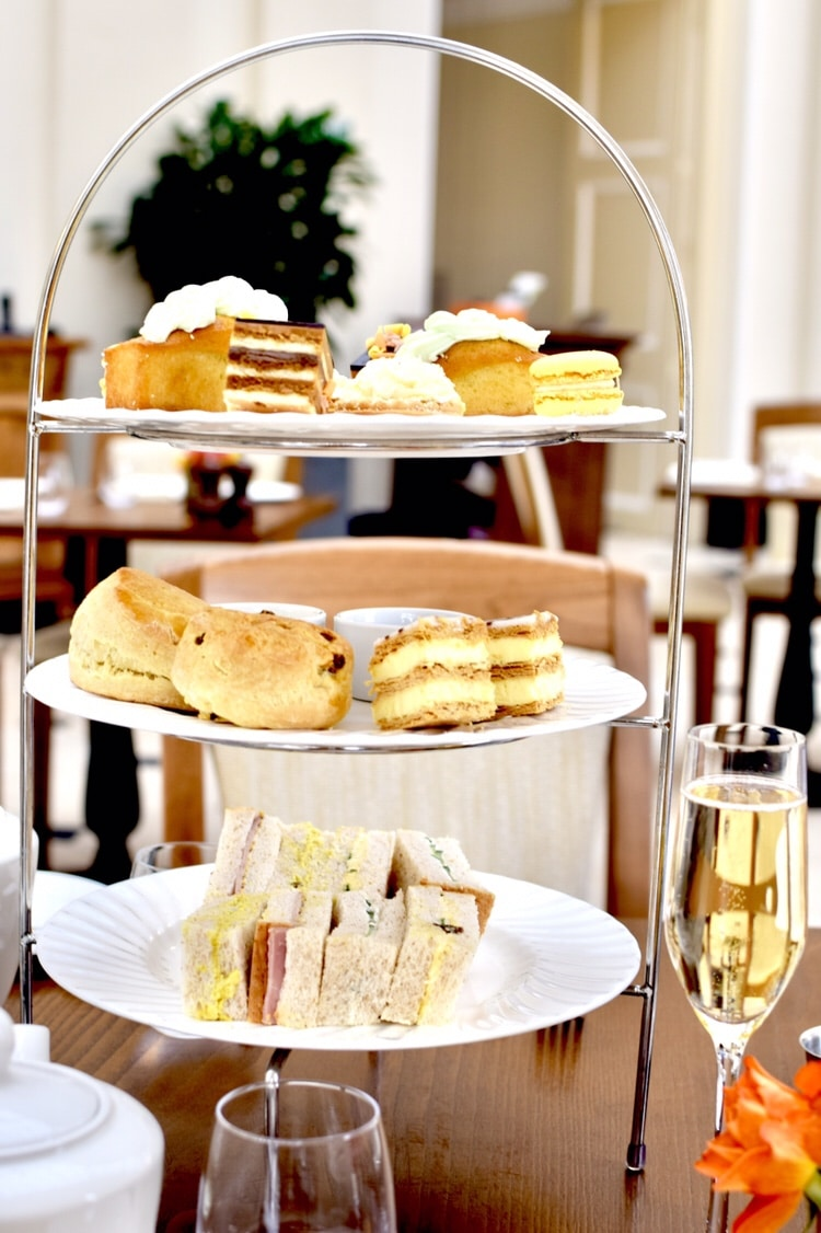 Blenheim Palace Orangery Afternoon Tea Spread
