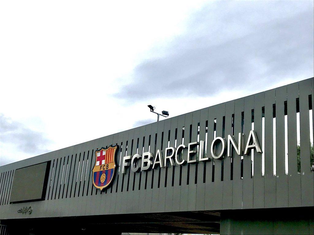 Barcelona FC Belle in Transit