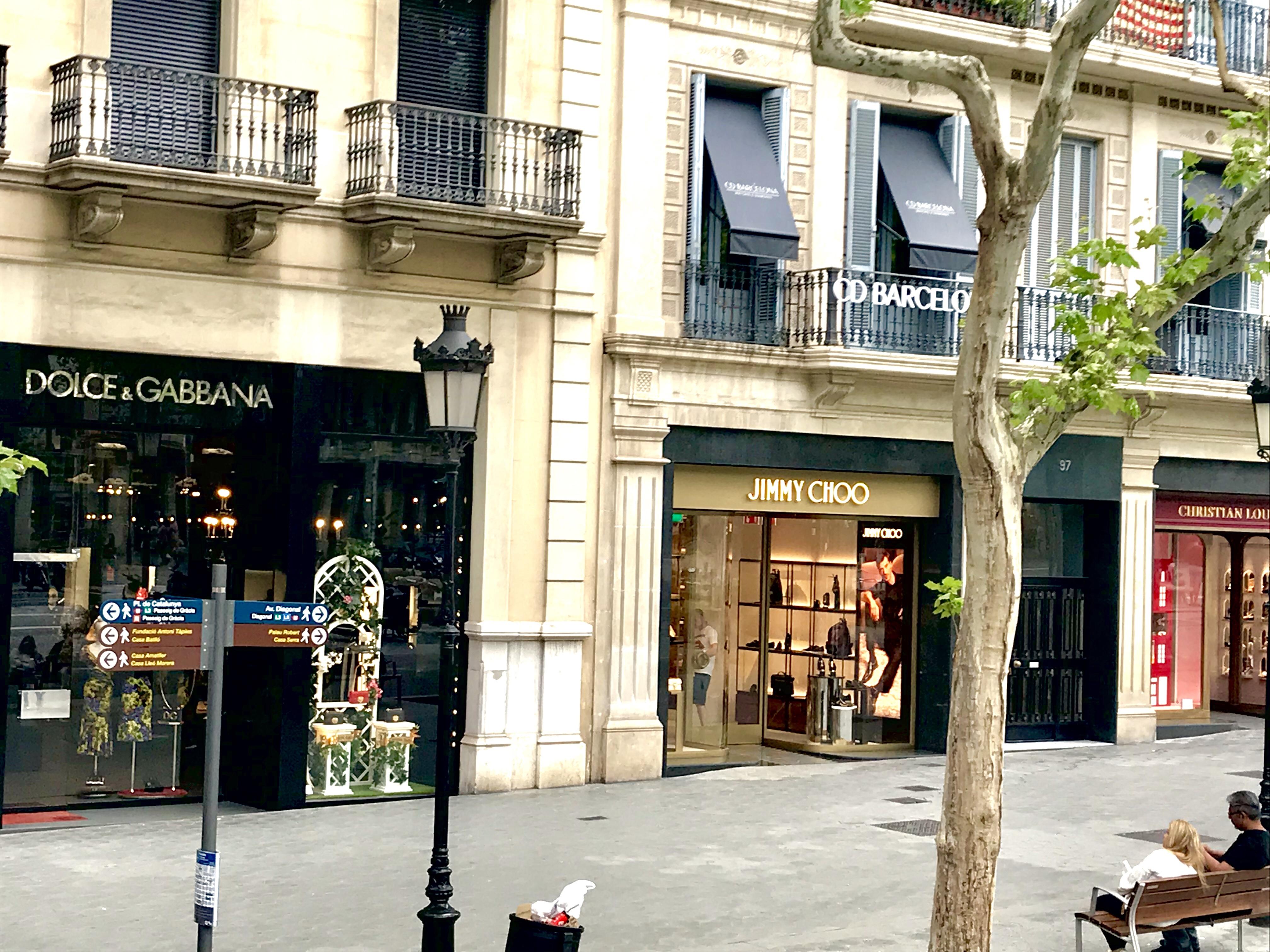 Barcelona La Rambla Belle in Transit